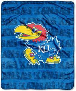Northwest NCAA Kansas Jayhawks Grunge Throws
