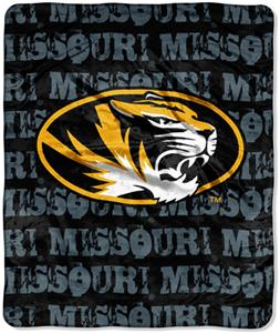 Northwest NCAA Missouri Tigers Grunge Throws