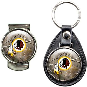 Washington Redskins Open Field Keychain/Money Clip