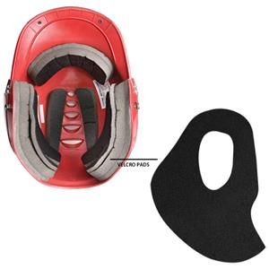 Worth Low Profile Batter's Helmets Pads Fit Kit