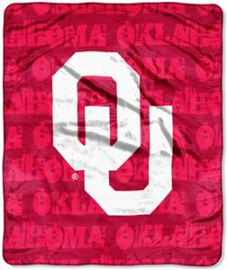 Northwest NCAA Oklahoma Sooners Grunge Throws