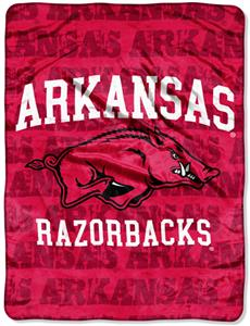 Northwest NCAA Arkansas Razorbacks Grunge Throws