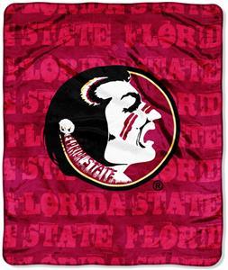 Northwest NCAA Florida Seminoles Grunge Throws