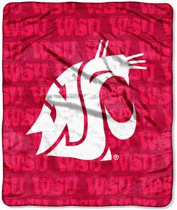 Northwest NCAA Washington Cougars Grunge Throws