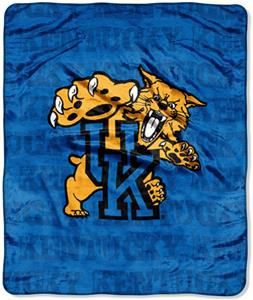 Northwest NCAA Kentucky Wildcats Grunge Throws