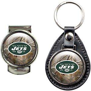 NFL New York Jets Open Field Keychain/Money Clip
