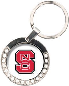 NCAA North Carolina State Rhinestone Key Chain