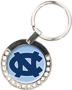 NCAA North Carolina Tar Heels Rhinestone Key Chain