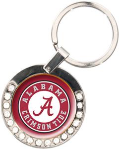 NCAA Alabama Crimson Tide Rhinestone Key Chain
