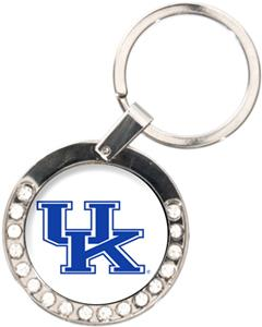 NCAA Kentucky Wildcats Rhinestone Key Chain