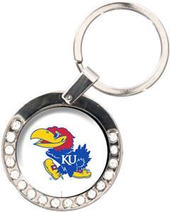 NCAA Kansas Jayhawks Rhinestone Key Chain