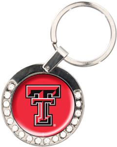 NCAA Texas Tech Rhinestone Key Chain