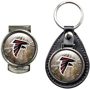 NFL Atlanta Falcons Open Field Keychain/Money Clip