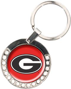 NCAA Georgia Bulldogs Rhinestone Key Chain