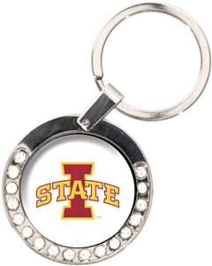NCAA Iowa State Cyclones Rhinestone Key Chain