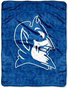 Northwest NCAA Duke University Grunge Throws