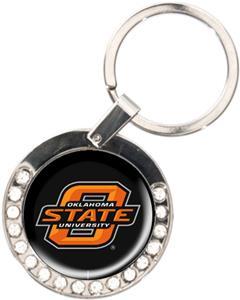 NCAA Oklahoma State Cowboys Rhinestone Key Chain