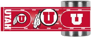 Utah Utes Stainless Steel Can Holder Hi-Def Wrap