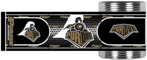 NCAA Purdue Stainless Steel Can Holder Hi-Def Wrap