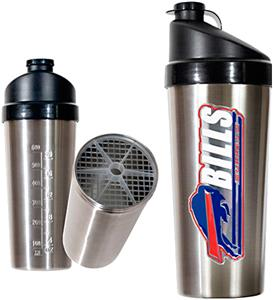 NFL Buffalo Bills Stainless Steel Protein Shaker