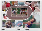 Blazer Athletic Track Scorebook