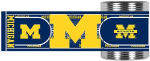Wolverines Stainless Steel Can Holder Hi-Def Wrap