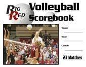 Blazer Athletic Volleyball Scorebook