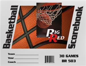 Blazer Athletic Basketball Scorebook