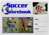 Blazer Athletic Soccer Scorebook