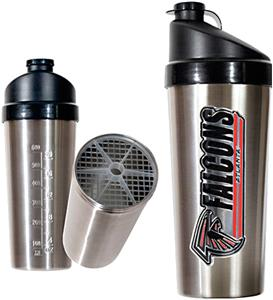 NFL Atlanta Falcons Stainless Protein Shaker