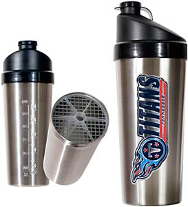 NFL Tennessee Titans Stainless Protein Shaker