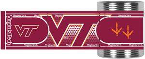 Hokies Stainless Steel Can Holder Hi-Def Wrap