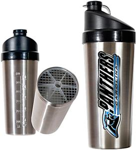 NFL Carolina Panthers Stainless Protein Shaker