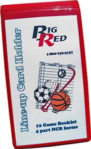 Blazer Athletic Multi-Sport Line-Up Card Holder
