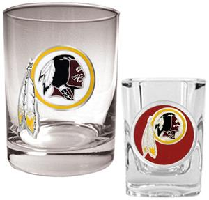 NFL Washington Redskins Rocks Glass / Shot Glass
