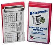 Blazer Volleyball Line-Up Card Holder w/Cards