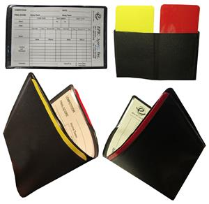 Soccer Referee Warning Cards w/Score sheets