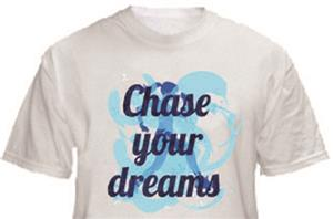 1 Line Sports Chase Your Dreams Running T-Shirt