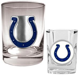 NFL Indianapolis Colts Rocks Glass / Shot Glass