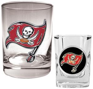 NFL Tampa Bay Buccaneers Rocks Glass / Shot Glass