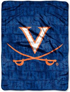 Northwest NCAA Virginia Cavaliers Grunge Throws