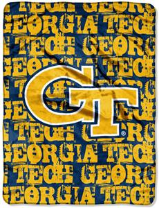 Northwest NCAA Georgia Tech Grunge Throws