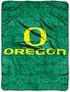 Northwest NCAA Oregon Ducks Grunge Throws