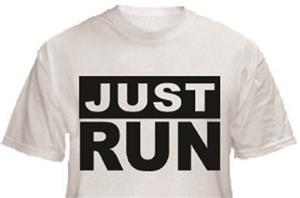 1 Line Sports Just Run T-Shirt