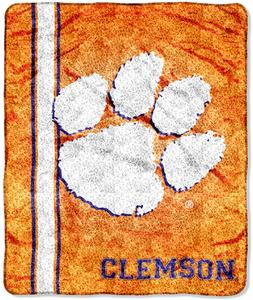 Northwest NCAA Clemson Tigers Sherpa Throws