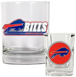 NFL Buffalo Bills Rocks Glass / Shot Glass