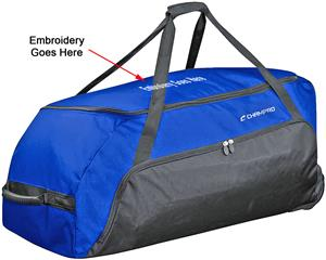 Jumbo All-Purpose Equipment Bags w/Wheels