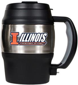 NCAA Illinois Heavy Duty Insulated Mug