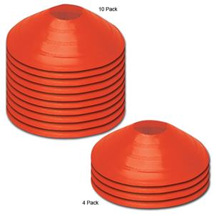 "Champro 7.5"" Diameter Plastic Marker Discs-Orange"