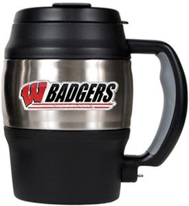 NCAA Wisconsin Badgers Heavy Duty Insulated Mug